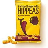 Hippeas Organic Chickpea Puffs, Bohemian Barbecue, Vegan, Gluten-Free (Pack of 12)