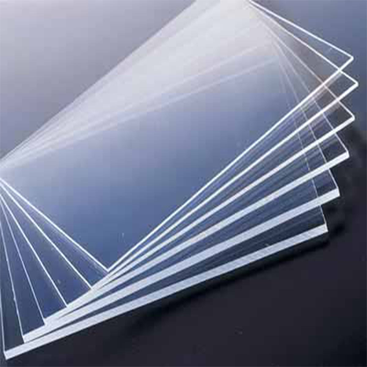 Zaktag Acrylic Sheet Plexi Glass Transparent: Amazon.in: Office ...