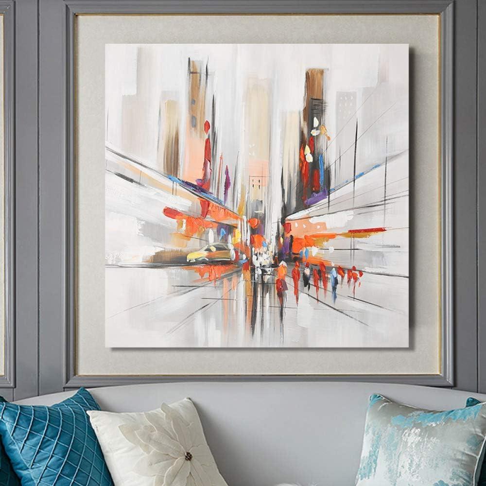 tzxdbh Pintura al óleo Abstracta Moderna sobre póster de Arte ...