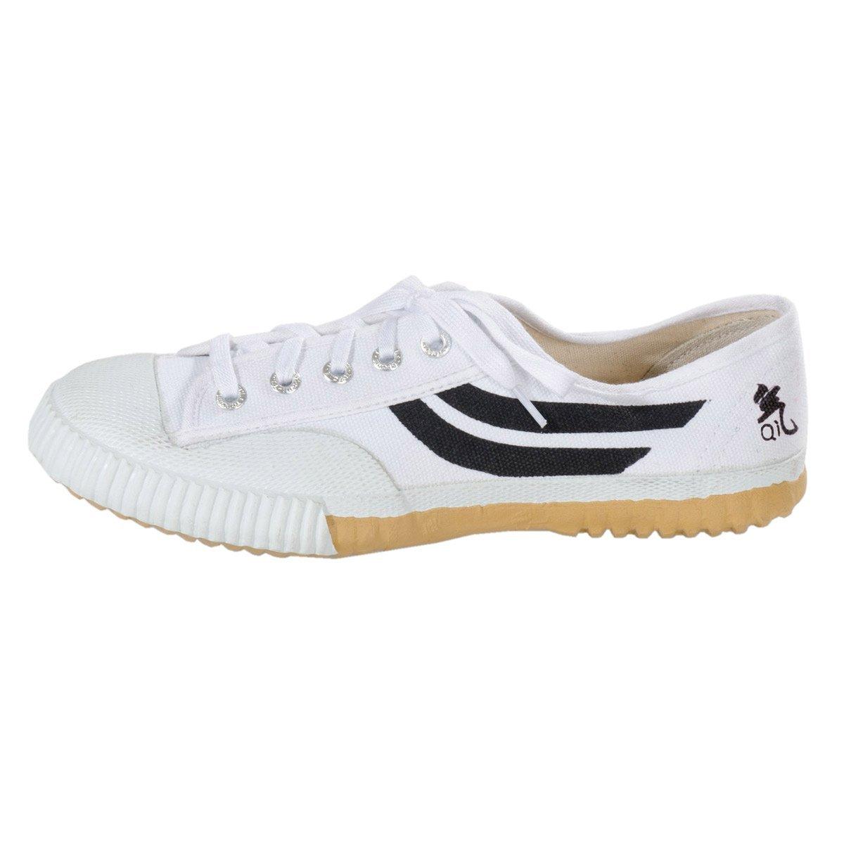 KWON Chaussures de toile pour les arts martiaux, blanc