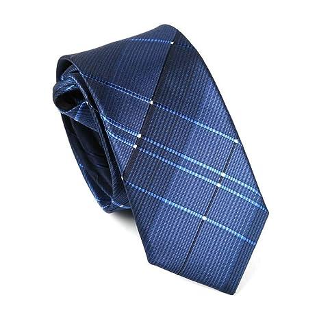 Xzwdiao Corbatas Vestido De Los Hombres Sección Estrecha 6Cm ...