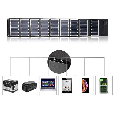 Kingsolar - Cargador Solar de batería, Plegable, portátil ...