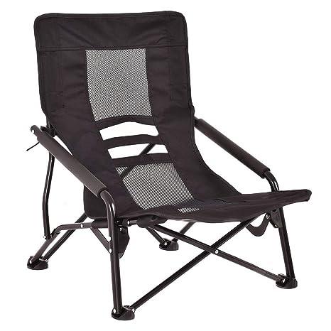Strange Amazon Com Giantex Folding Beach Chair High Back Interior Design Ideas Pimpapslepicentreinfo