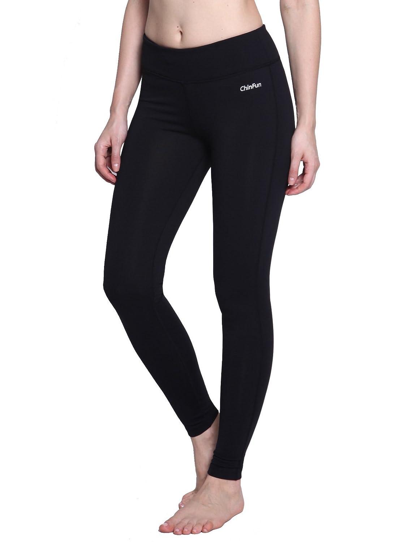"ChinfunレディースAnkle Legging Power Flexヨガパンツwith Hidden Pocket Nonシースルー生地 B01N6NC9SV Size M (Waist 28""-30"")|Black-Legging Black-Legging Size M (Waist 28""-30"")"
