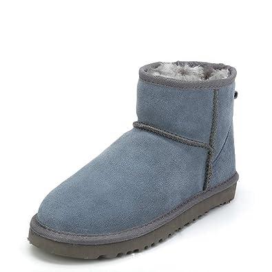 premium selection 94d23 279c3 DoGeek Winterschuhe Damen Boots Winter Gefütterte ...