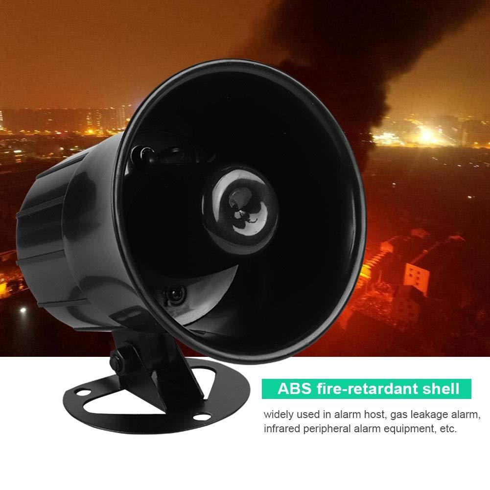Alarma Cableada DC 12V, Sirena de bocina ruidosa Sistema de ...