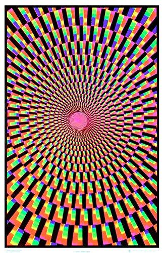 - (24x36) Mind's Eye Blacklight Poster Print