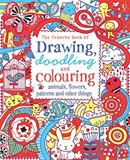 Drawing, Doodling and Colouring Book (Art Ideas) (Usborne Drawing ...