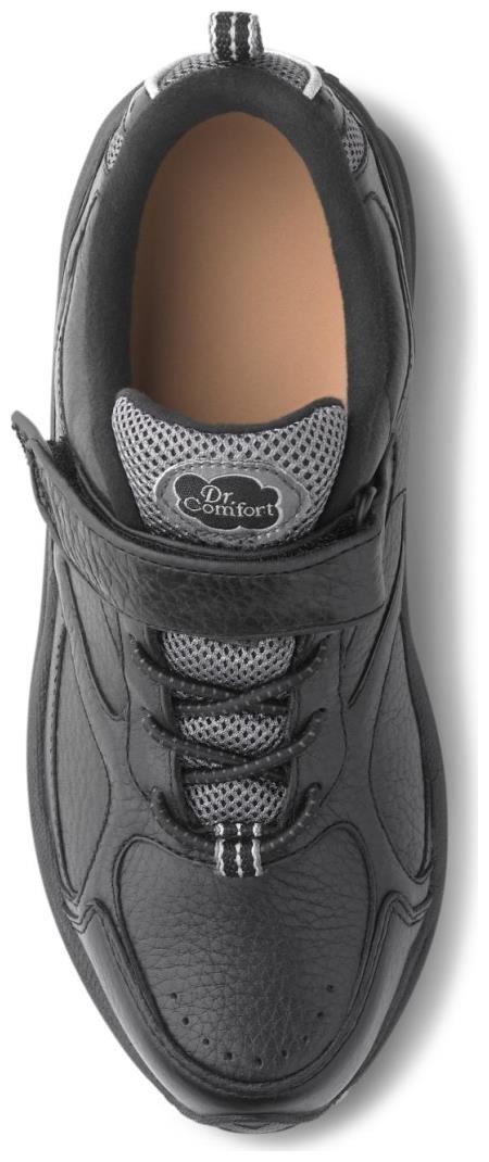 Dr. Comfort Women's Spirit Black Diabetic Athletic Shoes by Dr. Comfort (Image #2)