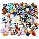 mookaitedecor 1lb Tumbled Stones Polished Crystals