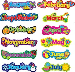 Add seasonal flair to any calendar display!