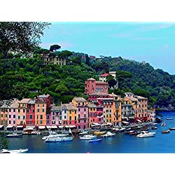 Art Print Wall Stickers, Posters- Portofino,Italy 24x32 inches