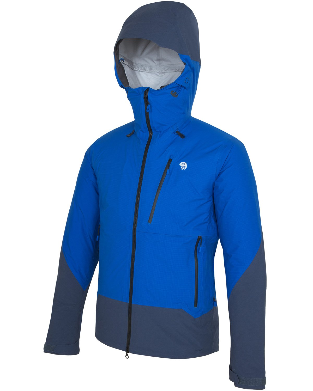 MOUNTAIN HARDWEAR(マウンテンハードウェア) スーパーフォーマジャケット OM0743 B074R7TQ19 S|438(Altitude Blue/Zinc) 438(Altitude Blue/Zinc) S