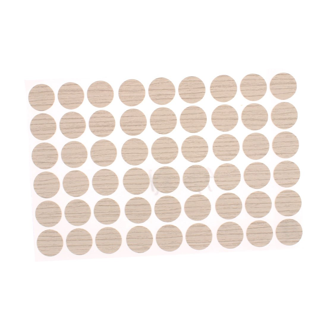 Furniture Self-Adhesive Screw Covers Caps Stickers Decoration 54 in 1