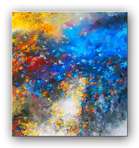 (Abstract oil painting, Untitled, Original abstract art, Oil on canvas, signed original contemporary art)