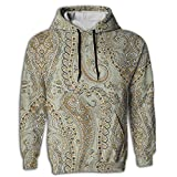 Paskcc Men's Hoodie Cheap Sweatshirt Kangaroo Pocket Egyptian Persian Traditional Juniors