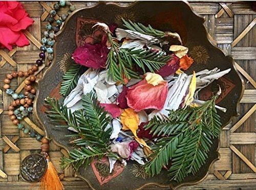 Wild Herb Incense - Redwood, Sage, Lavender and Rose Loose Incense