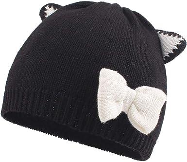 Newborn Baby Boy Girl Hat Toddler Infant Solid Knit Cap Warm Unisex Beanie