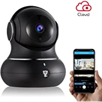 Littlelf 720P Indoor Wireless Home IP Security Camera with 2-Way Audio, Night Vision, Remote Monitor with iOS & Android App, Micro SD Card or Cloud Storage
