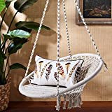 Two's Company 51568 Out of Africa Macrame Hanging Chair