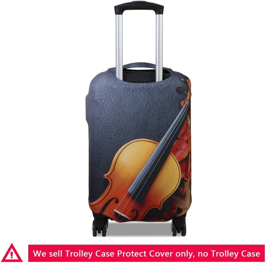 ZRENTAO S//M//L Waterproof Holiday Suitcase Protective Cover Fit 18-30Inch Trolley Case