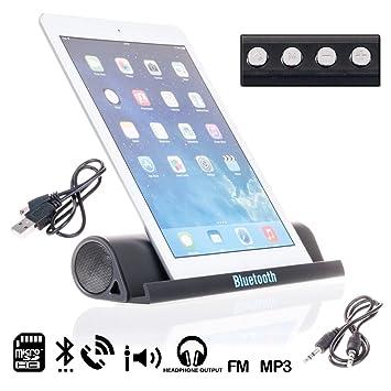 DAM. DML007. Altavoz Bluetooth con Soporte para Móviles ...