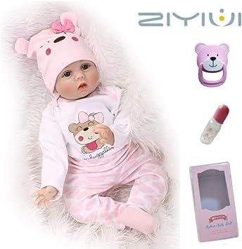 """11/"""" Baby Doll per ragazze CAUCASICO 11 pollici vinile morbido corpo Bambola In Scatola Regalo"""