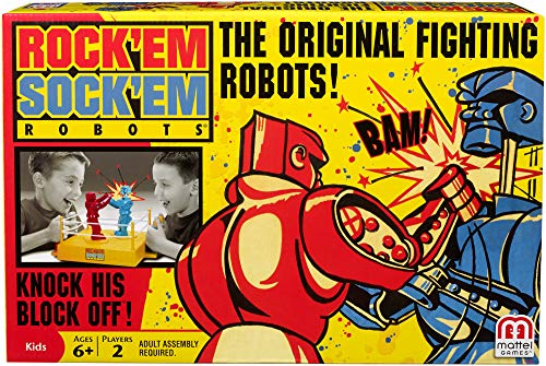 Mattel Rock 'Em Sock 'Em Robots (Gift For 7 Year Old Boy 2015)