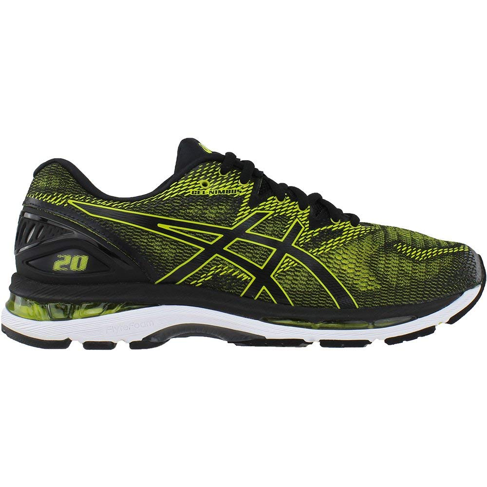 ASICS Men's Gel-Nimbus 20 Running Shoe, Sulphur Spring/Black/White, 6.5 Medium US by ASICS (Image #2)