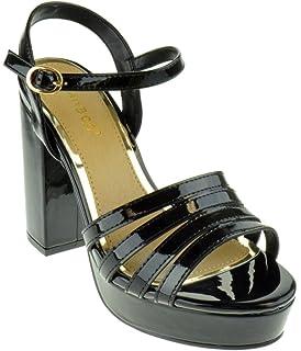 0451264b9468 BAMBOO Current 12s Womens Chunky Heel Platform Sandals
