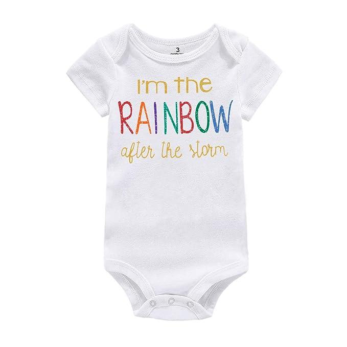 Amazon.com: WINZIK Mono de una pieza para bebé y niña, con ...