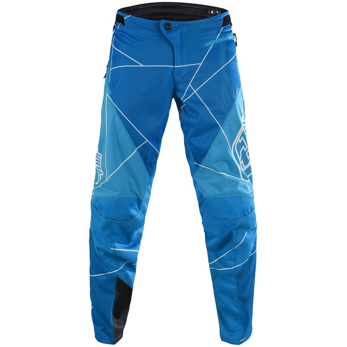 Troy Lee Designs Sprint Metric Youth Off-Road BMX Cycling Pants - Ocean/White / 18