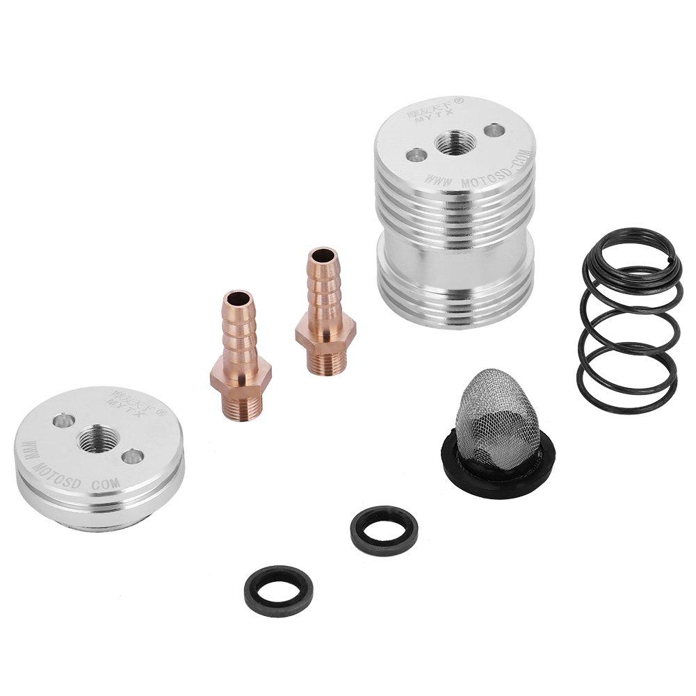 Motorrad /Ölfilter Extern K/ühlsystem M8 40mm