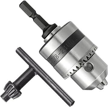 1//4/'/' Impact Socket Adapter 1.5-10mm Drill Chuck Driver Converter 3//8/'/'