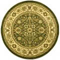Safavieh Lyndhurst Collection LNH212C Traditional Oriental Sage and Ivory Round Area Rug (8' Diameter)