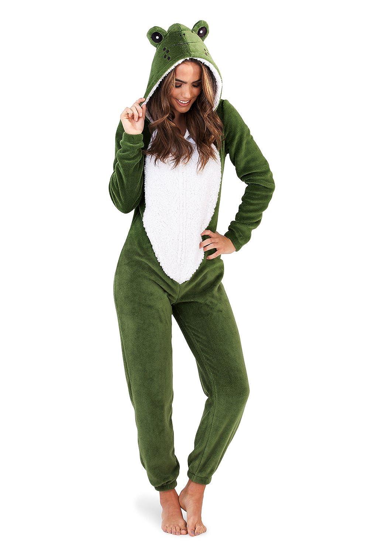 TALLA XL . Loungeable Boutique - Forro Polar para Mujer, diseño de Animales, Todo en uno