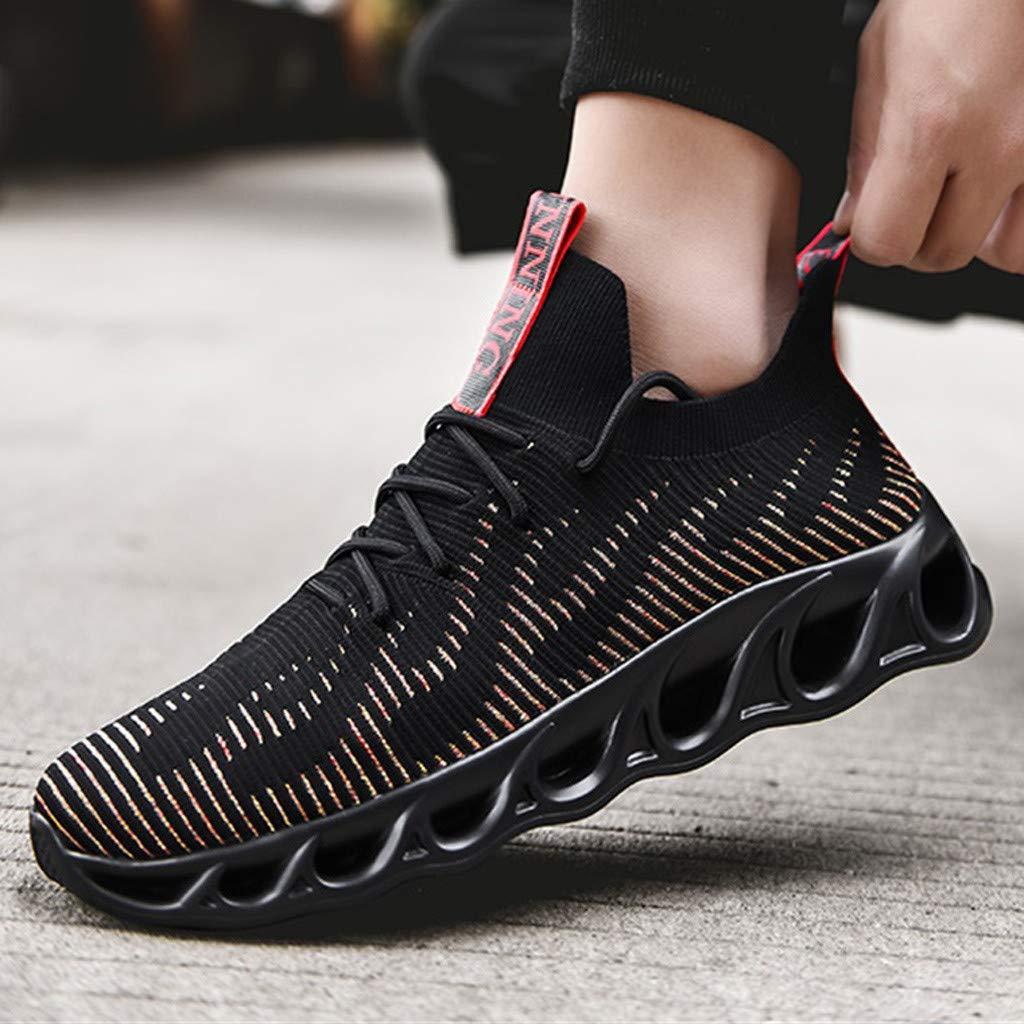 918742cbcd203 Amazon.com: Sameno Street Sneakers Sock Sneakers for Men の Cushion ...