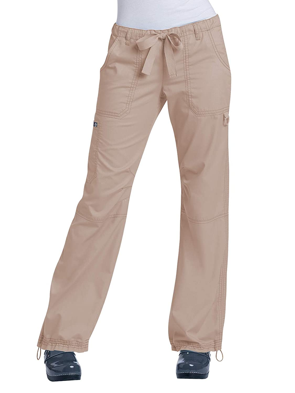Camel KOI Women/'s Lindsey Ultra Comfortable Cargo Style Scrub Pants Medium