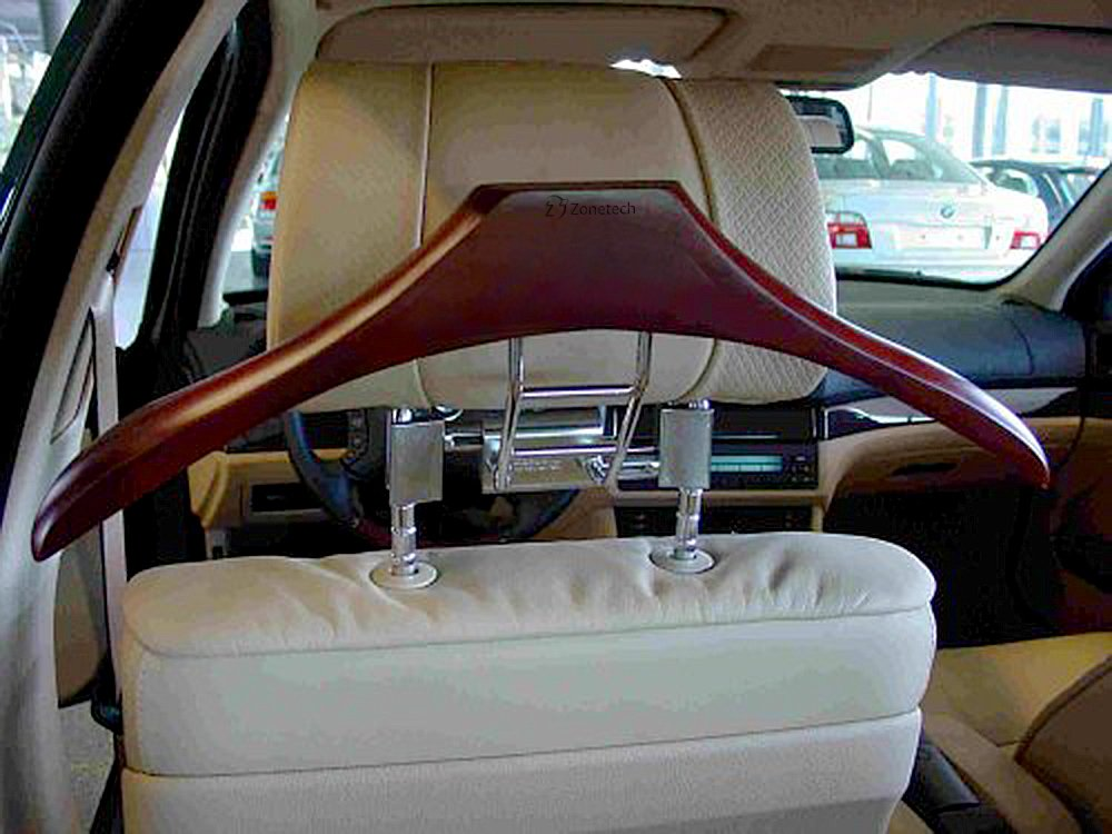zone tech travel valet butler luxury car coat headrest suit hanger plastic ebay. Black Bedroom Furniture Sets. Home Design Ideas