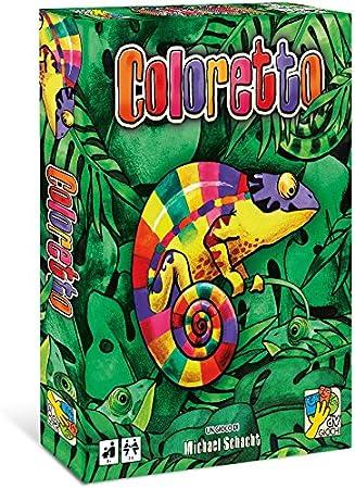 dV Giochi dvg9319 – Coloretto Juegos de Mesa: Amazon.es: Juguetes y juegos