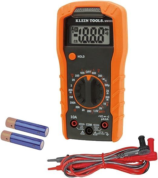 Manual Range Measuring Tool Voltmeter High Sensitivity Mini Multimeter for Home for Office for Indoor