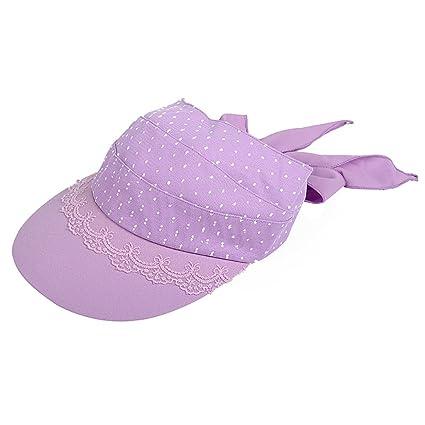 WENJUN Sombrero Femenino Verano Al Aire Libre Superior Sombrero del Sol  Viajes Protección Solar Sombrero del ad29541f819