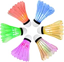 Ohuhu LED Badminton Shuttlecock