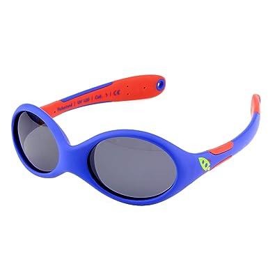 ActiveSol gafas de sol para BEBÉ | NIÑO | 100% protección UV 400 | polarizadas | irrompibles, de goma flexible | 0-24 meses | 18 gramos | REGALO DE ...