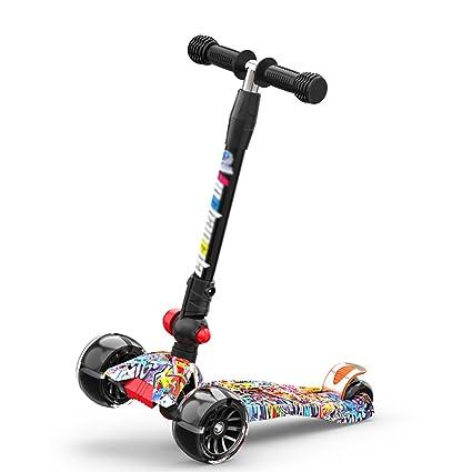 Patinete- Scooter para niños Plegable Scooter Plegable para ...