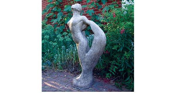 Statues & Sculptures Online Gran jardín Escultura - Esencia Desnuda Moderna Piedra Estatua: Amazon.es: Jardín