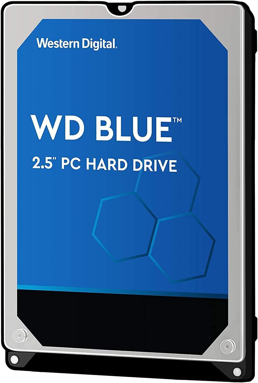 "WD Western Digital 1TB 2.5"" 128MB SATA III Hard Drive for Laptops, PS4 (WD10SPZX)"