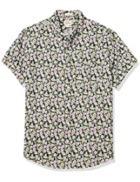 J.Crew Men's Short Sleeve Linen Shirt