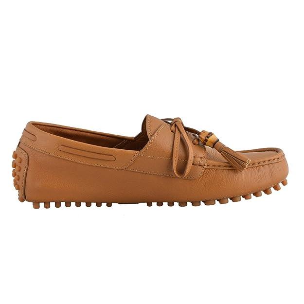 Gucci Moccasins Zapatos de conducción para Hombre, Marrón (Marrón), 43 EU: Amazon.es: Zapatos y complementos