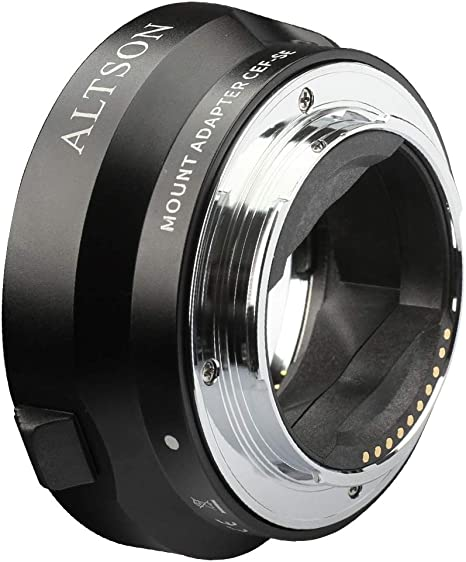 6 Pack Vello Canon EF//EF-S Lens to C Mount Camera Adapter